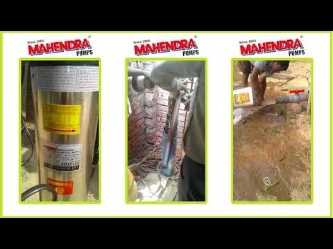 Mahendra Pumps Performance Video - 9 | Submersible Pumps