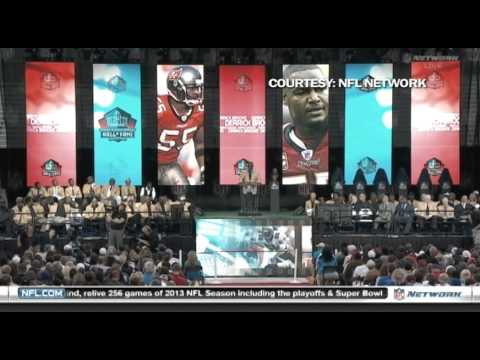 Derrick Brooks:  From Tampa to the Hall of Fame (Part 3 of 3)