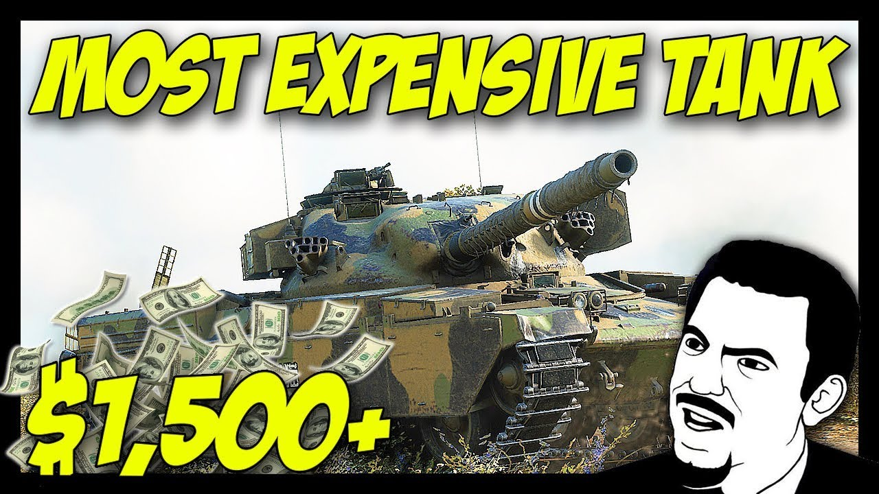 3e2c5ba4e0319 Chieftain Mk. 6 - The Most Expensive Tank! - World of Tanks Chieftain Mk. 6  PC Gameplay