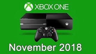XBOX ONE Free Games - November 2018