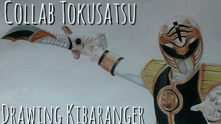 [Speed Art] Drawing Kibaranger  (Collab Tokusatsu)