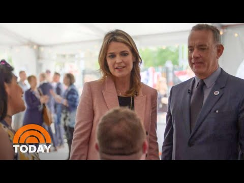 Tom Hanks And Savannah Guthrie Step Into The World Of Military Caregivers | TODAY