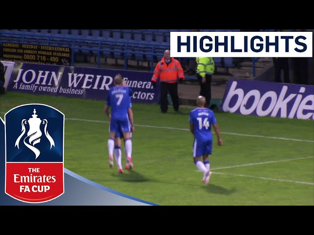 Gillingham 2 -1 Leyton Orient | Highlights | The Emirates FA Cup 2017/18