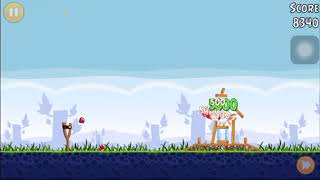 Physics Project Angry Birds acceleration due to gravity video