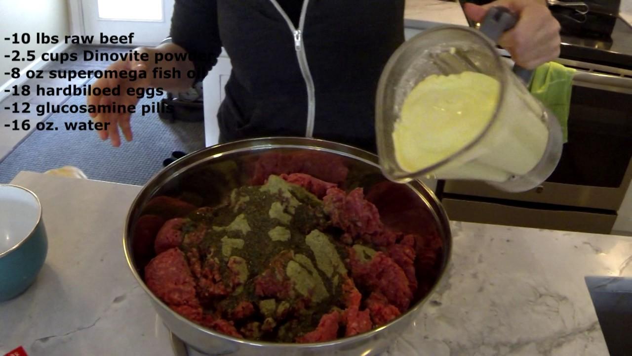 Homemade Dog Food - YouTube