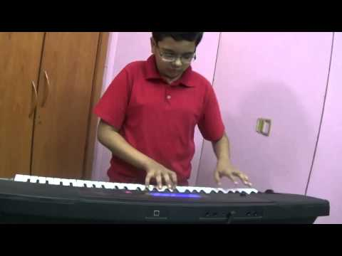 Kisi Ki Muskurahaton Pe - Old Hindi Song played on Keyboard by Dishant Vyas