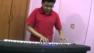 Kisi Ki Muskurahaton Pe - Old Hindi Song played on Keyboard by Dishant Vyas