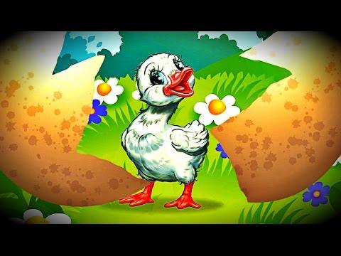 Игра как Мультик, Кто Спрятался в Яйце - Птицы для Детей