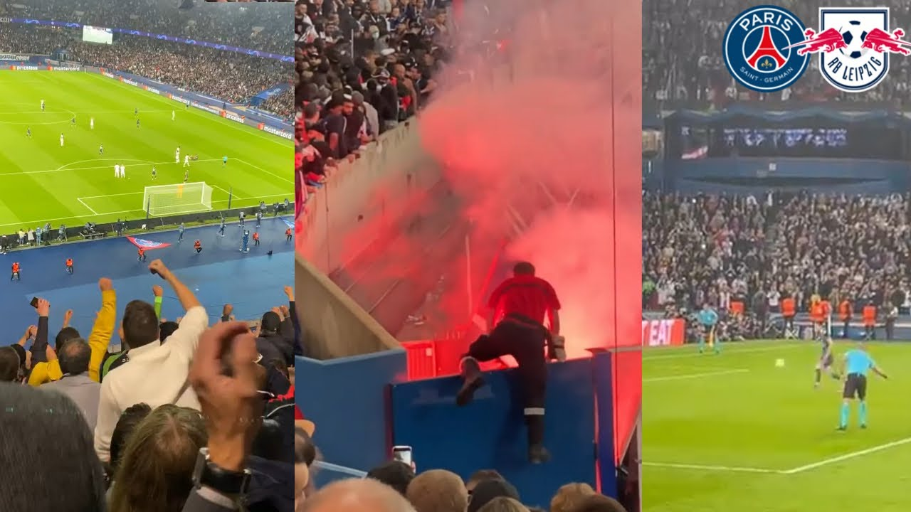 Download PSG Fans Go Completely Crazy As Messi Scores A Panenka Goal To Secure PSG Win Against Leipzig
