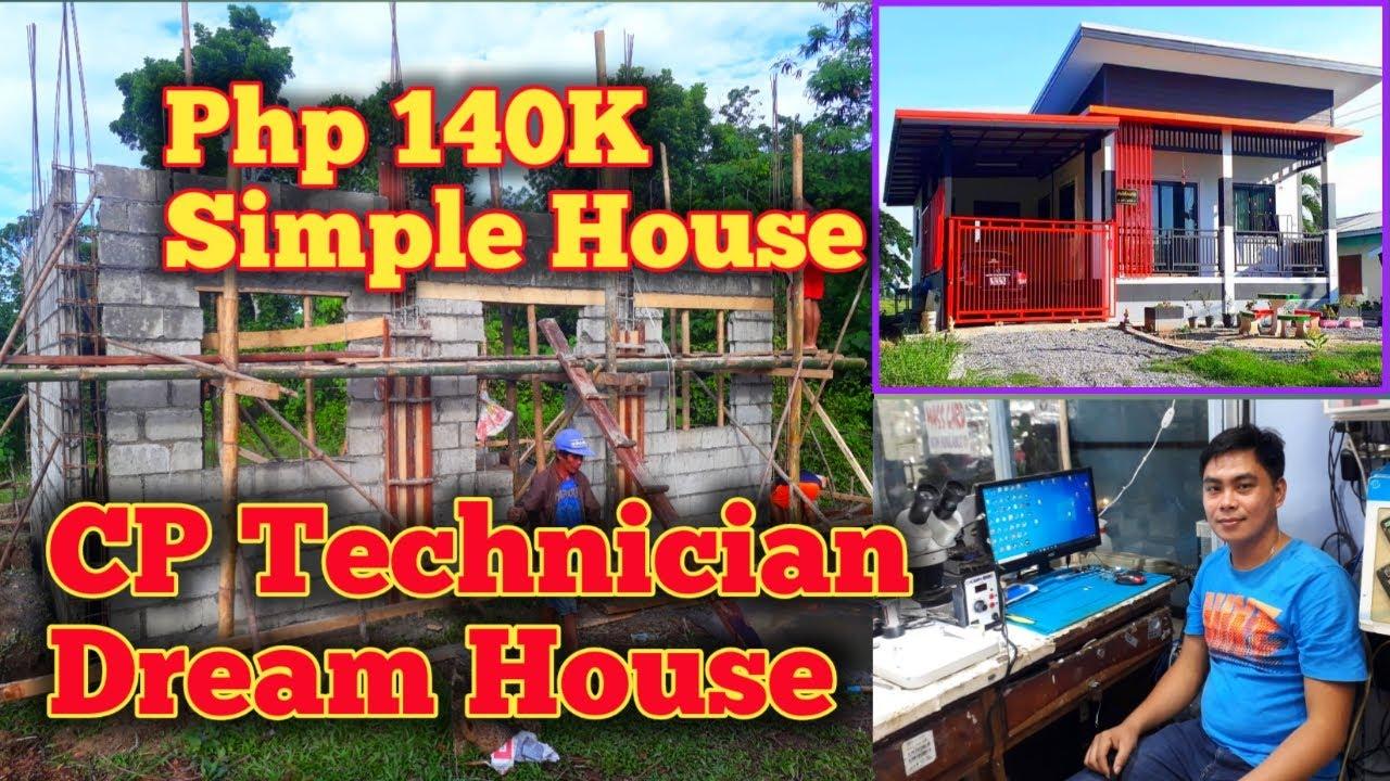 SIMPLE HOUSE | Step by step process + mga nagastos sa materyales at labor cost