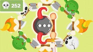 Destroying Everyone in a Moomoo.io Clone (Takemine.io, 252 Kills)
