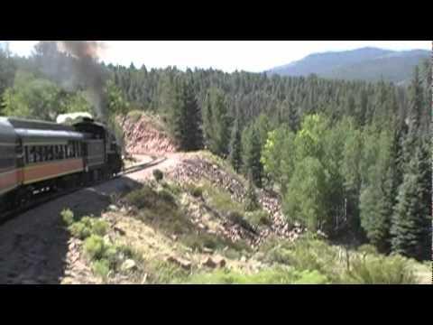 Over La Veta Pass by train, Part 1 of 2: Alamosa to La Veta