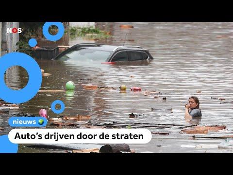 Mensen in België en Duitsland omgekomen door wateroverlast