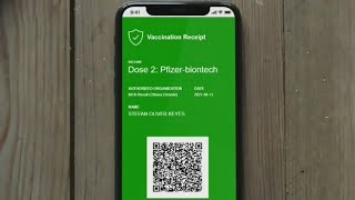 How to download tнe QR code for Ont. vaccine passport