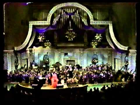 "Ella Fitzgerald and Arthur Fiedler conducting The Boston Pops:  ""Down in the Depths"""