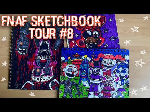 All Of My FNaF Drawings Part 8|| TOO MANY PICTURES?!?!