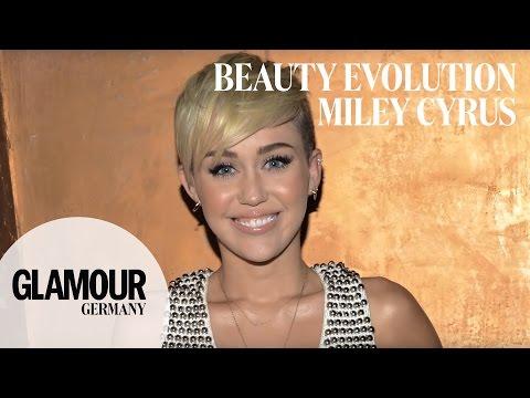 Miley Cyrus: von Hannah Montana zum fashion Wrecking Ball I GLAMOUR beauty Evolution