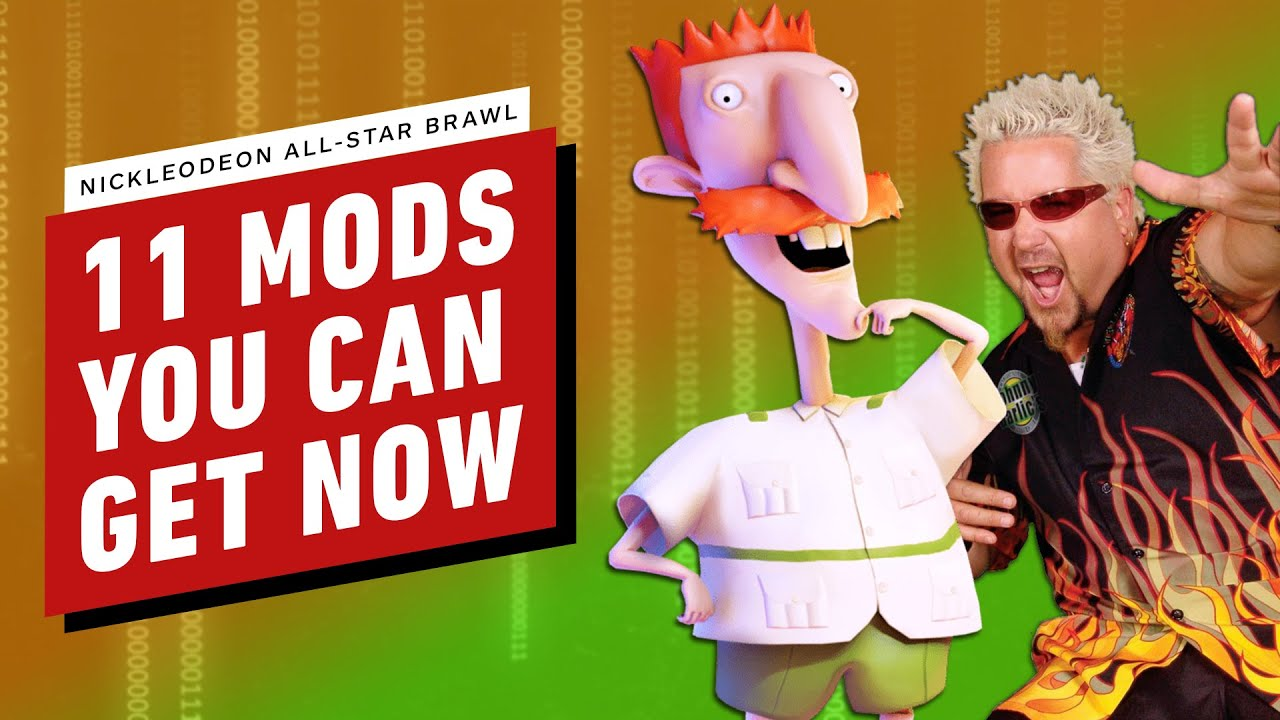 11 Mods for Nickelodeon All-Star Brawl You Can Get Now – IGN