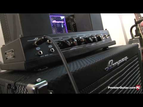 NAMM '13 - Ampeg Heritage B-15N Combo Demo
