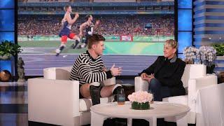 Ellen Helps Inspiring Athlete