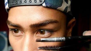 men eyebrows on fleek tutorial   didi