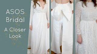 ASOS Bridal - A Closer Look