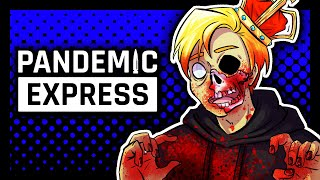 I'M THE ZOMBIE KING! | Pandemic Express: Zombie Escape (ft. RiaLuvsYou124)