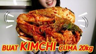 RESEP CARA MEMBUAT KIMCHI KOREA/How to make easy kimchi/초간단 김장김치 담그기