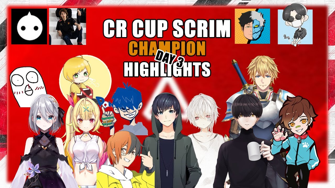 CR CUP Scrim day 3 Champion Highlights ǀ ft. Euriece , Niru, Ex Albio and Others ǀ 6th APEX CR CUP