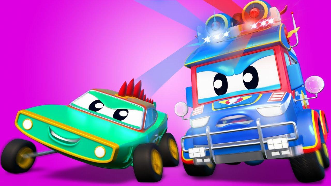 Is un POLICIA o un COCODRILO?   Super Camión   Car City World App