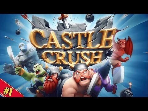 WE CANT BE BEATEN! Let's Play Castle Crush Walkthrough #1 (Pro/Beginner Tips)