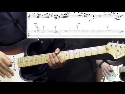 Band Of Gypsys Return (Jimi Hendrix) - Power Of Soul Part2 - Blues Guitar Lesson (w/Tabs)