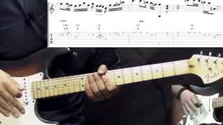 Band Of Gypsys Return (Jimi Hendrix) - Power Of Soul Part2 - Blues Guitar Lesson (with Tabs)