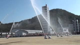 2013-1027●H25高松市消防連合演習<林野火災訓練>
