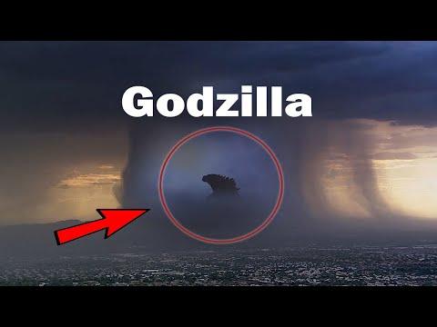 Gerçek Hayatta Kameraya Yakalanan 5 Godzilla Videosu