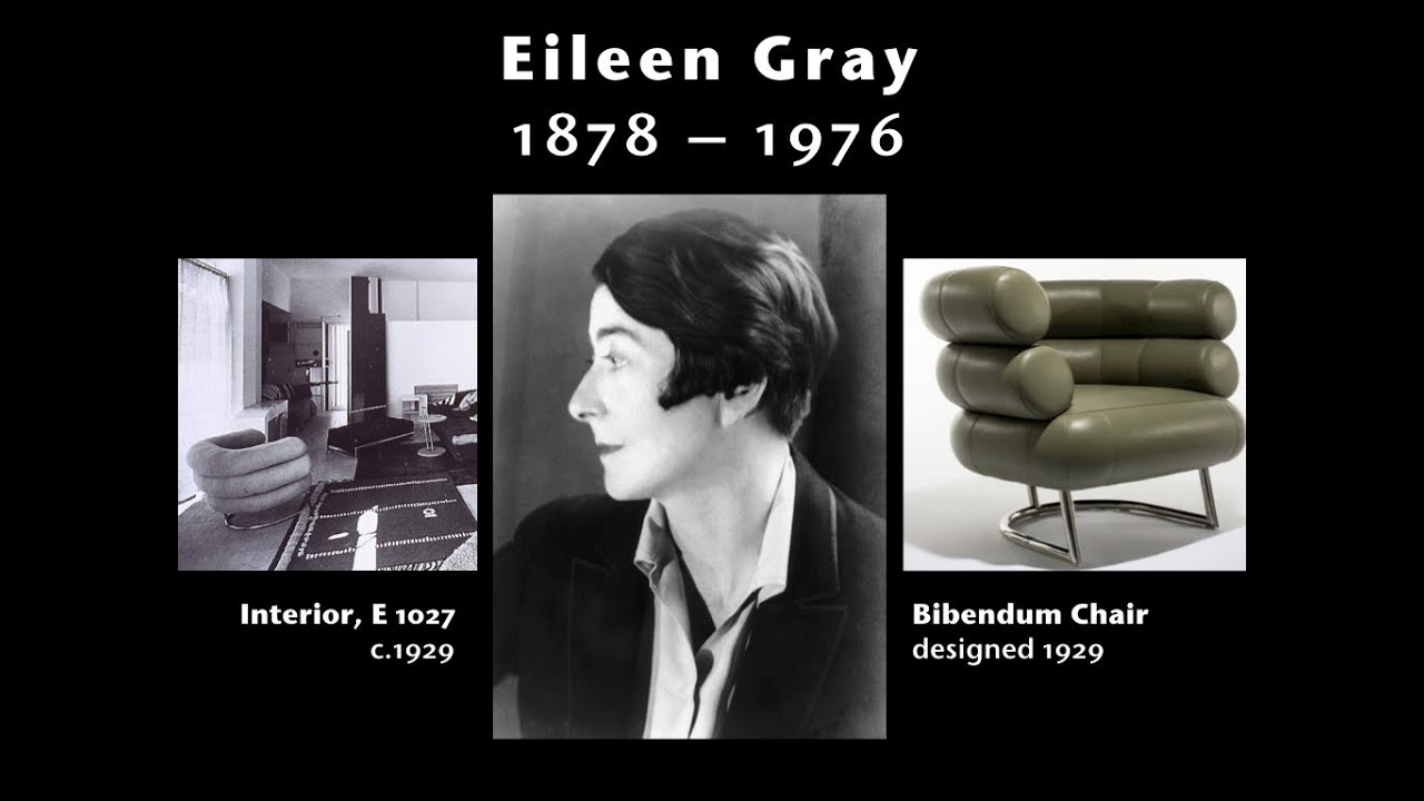 a brief introduction to eileen gray youtube. Black Bedroom Furniture Sets. Home Design Ideas