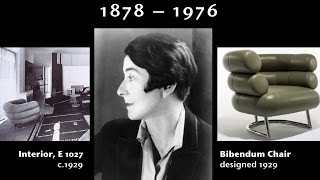 A brief introduction to Eileen Gray