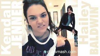 """Kendall JENNER & Hailey BALDWIN - DUBSMASH """"BFF"""""""