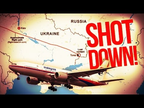 Malaysian Airlines Plane Downed Over Ukraine