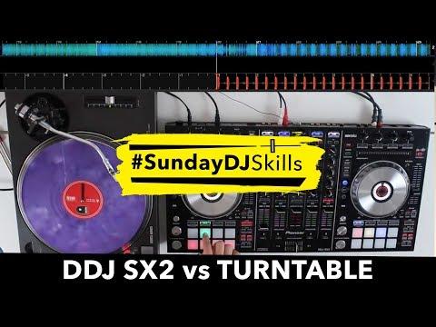 Pioneer DDJ SX2 vs Turntable - Performance Mix - #SundayDJSkills Mp3