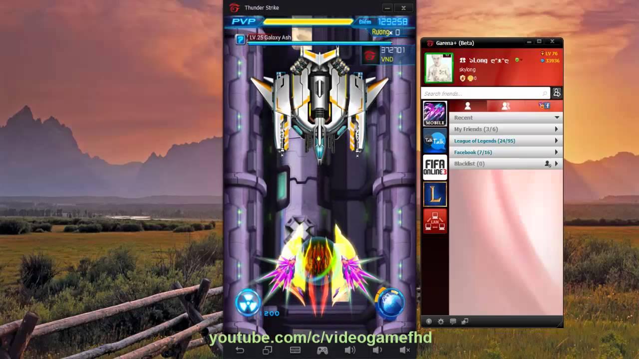 Chiến cơ huyền thoại Việt Nam – Hướng dẫn chơi trên máy tính bằng Garena+, Chơi PVP trên máy tính