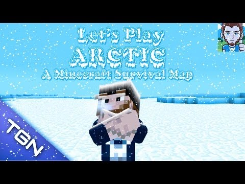 Let's Play Minecraft Arctic Survival Map Episode  7