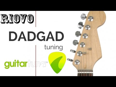 how to tune your guitar into dadgad tuning using guitar tuna app ios and android for free. Black Bedroom Furniture Sets. Home Design Ideas
