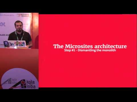 Components as Microservices in the Front End World
