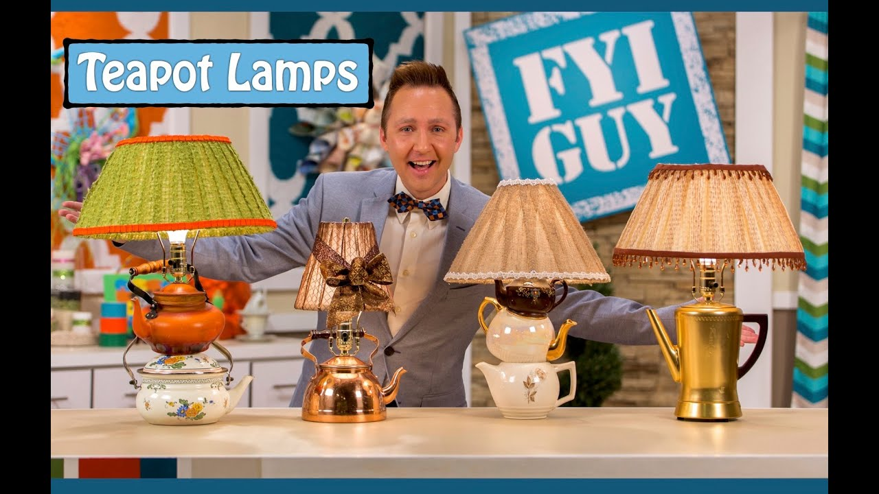 FYI GUY: Teapot Lamp