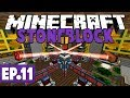 Minecraft StoneBlock - Resources From Chickens & Empowering! #11 [Modded Questing Survival]