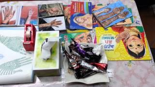 Easy Mehendi designs books cones in Little India Singapore