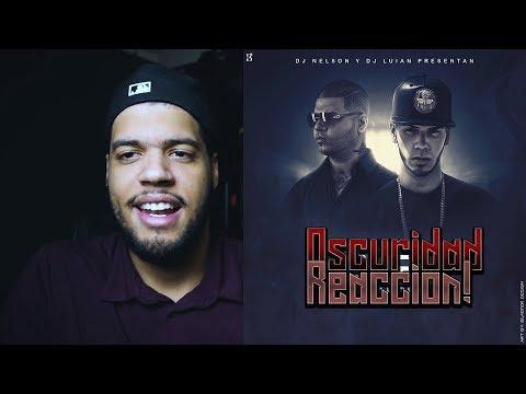 Farruko - Oscuridad (Audio) ft. Anuel AA reaccion