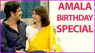 Amala Birthday Special Video | Nagarjuna And Actress Amala Latest Photos