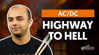 Highway To Hell - AC/DC (aula de bateria)